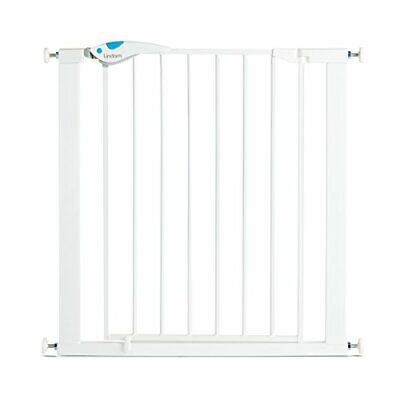 £31.52 • Buy Premium Lindam Easy Fit Plus Deluxe Pressure Fit Safety Gate 76 82 Cm White Uk