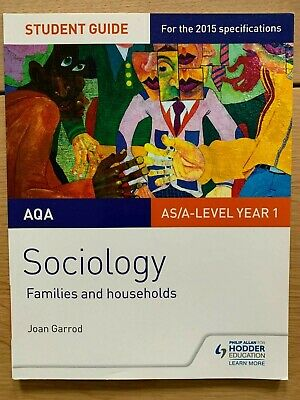 £6 • Buy Aqa As A Level Year 1 Student Guide Sociology Families And Households 2015