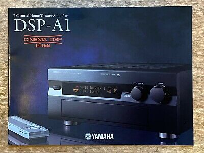 £8.95 • Buy Yamaha DSP-A1 Stereo Integrated Amplifier - SALES BROCHURE CATALOGUE ONLY - NEW