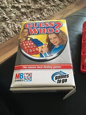 £0.99 • Buy Guess Who Travel Board Game