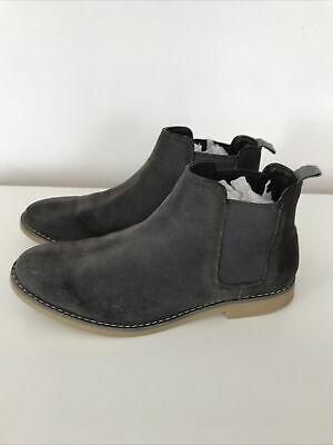 £5 • Buy M&S Grey Ankle Boots Size Uk 6 (39.5) Worn Twice