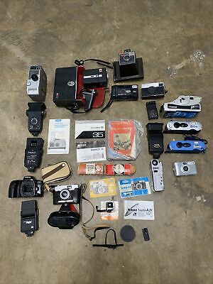 £25 • Buy Job Lot Of Old Cameras For Spares Repairs Or Parts Only