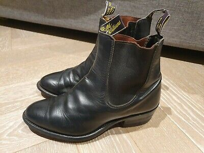 £35 • Buy RM Williams Black Yearling Boots Size 5.5G