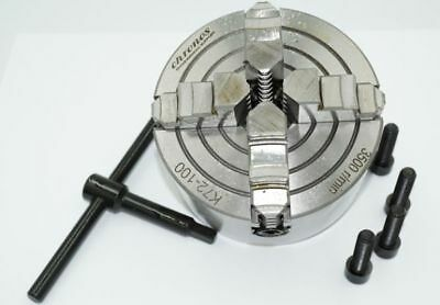 £59.95 • Buy 4 Jaw Independent Engineering Lathe Chuck 100 Mm From Chronos