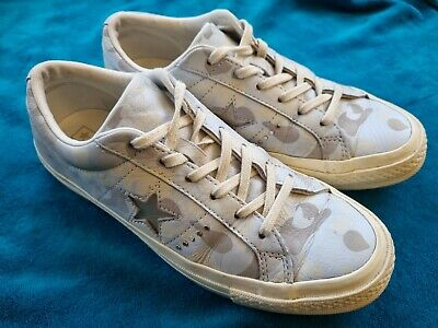 £14.99 • Buy Womens Blue/white Camouflage Converse One Star Size UK 7