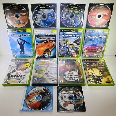 £24.83 • Buy 14 Game Xbox Lot-Ultimate Spider-man,The Haunted Mansion,NFS Underground,Amped,&