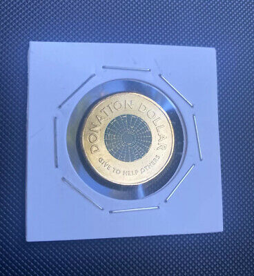 AU4.95 • Buy Donation Dollar $1 Coin 2020  Uncirculated In 2 X 2