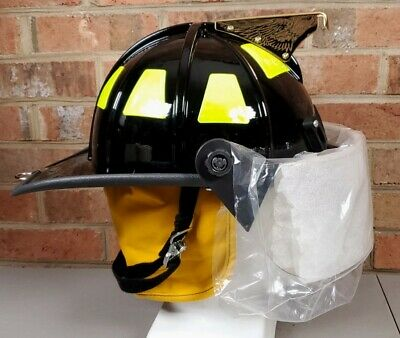 £290.25 • Buy 2014 Cairns & Brother 1010FSB Fire Fighter Helmet Firefighter W Face Shield NEW