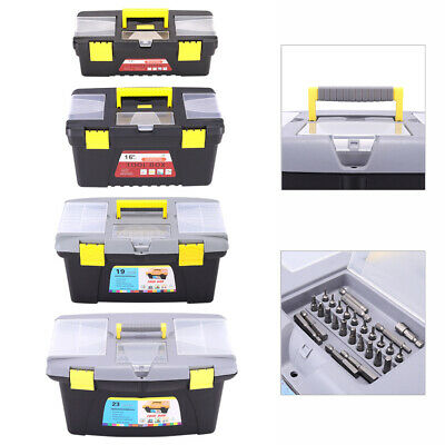 £12.95 • Buy Plastic Tool Box 16 Inch Classic Chest Storage Case & Removable Tray Organiser