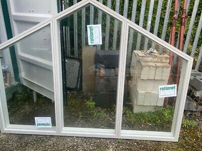 £100 • Buy Rationel Aura+ Double-glazed Shaped Fixed Window 1658mm H X 2048mm H