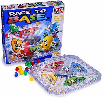 £7.95 • Buy M.Y Traditional Family Board Games, Children's Holiday Party Fun, Race To Base