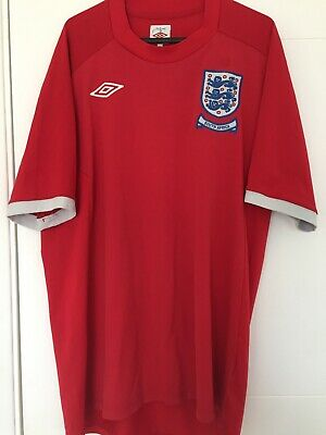 """£3.37 • Buy England World Cup 2010 South Africa - Umbro Away Shirt - Size 44"""" L Large"""
