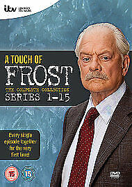 £35.99 • Buy A Touch Of Frost - Complete Series 1-15                 Fast  Shipping