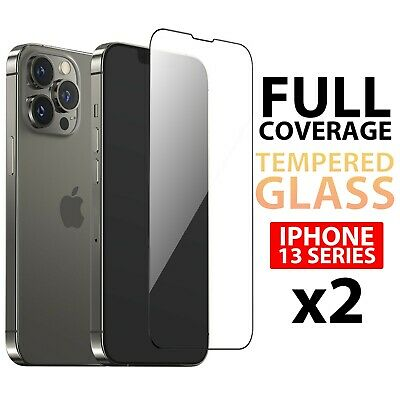 AU7.50 • Buy X2 Clear Tempered Glass Screen Protector For Apple IPhone 13 Pro Max Mini AU