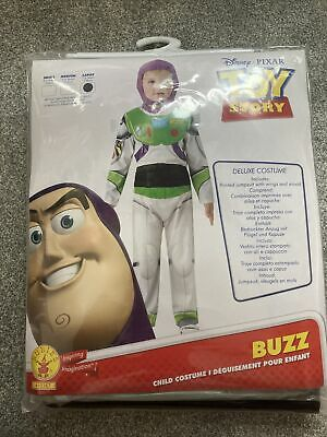 £9.40 • Buy Boys Deluxe Buzz Lightyear Costume Child Toy Story 4 Outfit