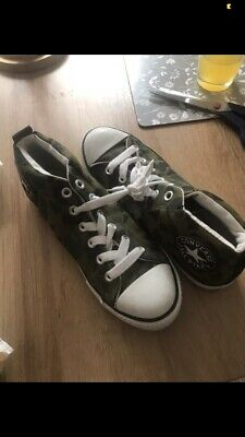 £10 • Buy Converse Size 5 Camouflage High Tops