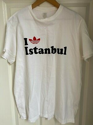£40 • Buy Bnwot Extremely Rare Adidas  I Love Istanbul  T-shirt - Large - Liverpool Fc
