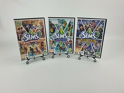 £9.99 • Buy Sims 3 Expansion Packs World Adventures Generations Ambitions