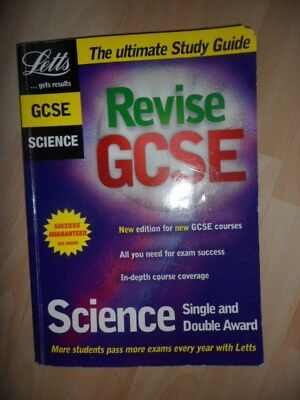 £0.99 • Buy Letts GCSE Science Single And Double Award
