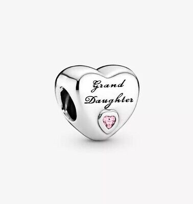 AU27 • Buy S925 Sterling Silver Grand Daughter Love Charm By Pandora's Star