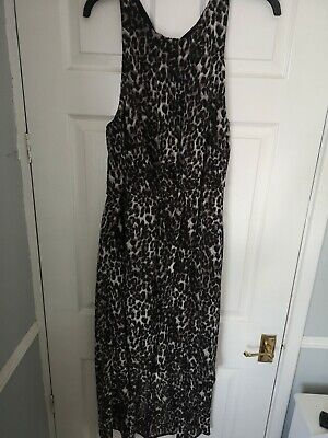 £3 • Buy Ladies Maxi Leopard Print Dress By Inspire From New Look - Size 22