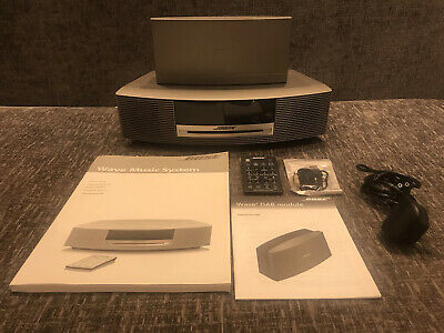 £169 • Buy Bose Wave Music System With Dab And Bluetooth Adapter !! Great Condition !!