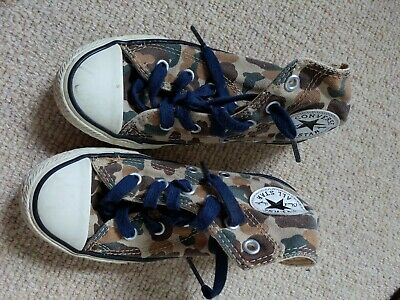 £0.99 • Buy Converse Kids Camouflage Size 11.5 Boots