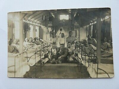 £3.65 • Buy WW1 German Soldiers, Wounded, Inside A Hospital Ward. Original Photo (45)