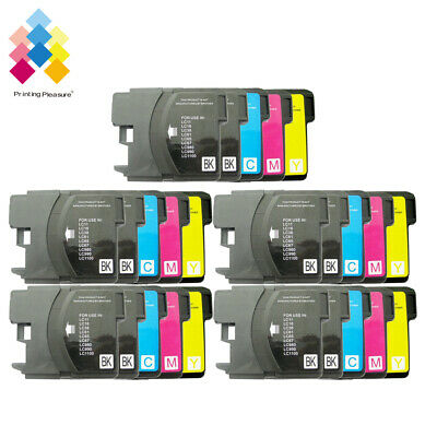 £10.39 • Buy 25 Ink Cartridge Fits Brother LC1100 DCP-395CN MFC-5895CW DCP-6690CW MFC-670CD