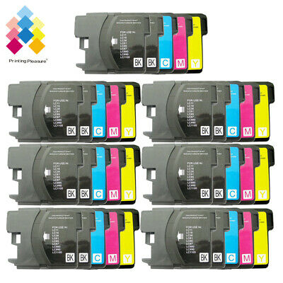 £12.99 • Buy 35 Ink Cartridge Fits Brother LC1100 DCP-395CN MFC-5895CW DCP-6690CW MFC-670CD