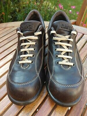 £52.95 • Buy Camper Pelotas Mens Brown Leather Shoes UK8 EU42 Excellent Used Condition