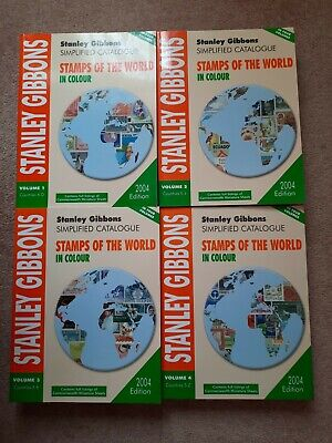 £45 • Buy Stanley Gibbons Simplified Stamps Of The World Catalogues In 4 Volumes. 2004