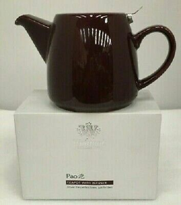 £5.99 • Buy Whittard Of Chelsea  Pao  650ml Tea Pot (Plum / Burgundy) With Stainless Infuser
