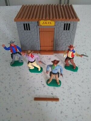 £45 • Buy Timpo Wild West Jail (number 262) With Sheriff And Cowboys