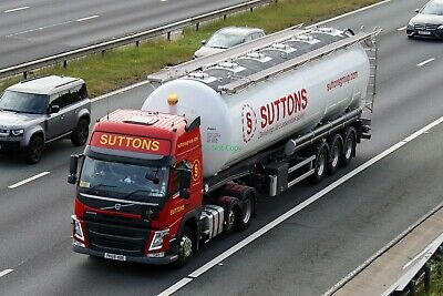 £0.99 • Buy T75 Truck Photo YK68 WBE Volvo Suttons