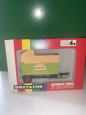 £39.99 • Buy 2004- Britains 1/32 Claas Tipping Silage Trailer No9566 MIB