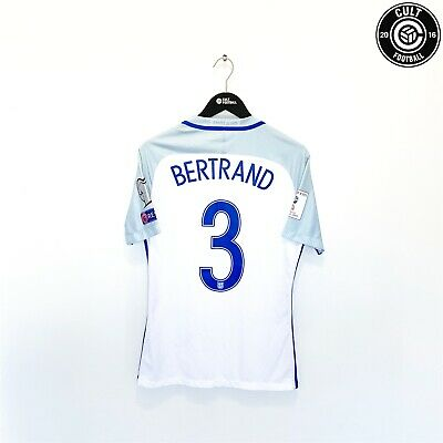 £149.99 • Buy 2016/17 BERTRAND #3 England Player Issued Match Prepared Shirt 2018 World Cup Q
