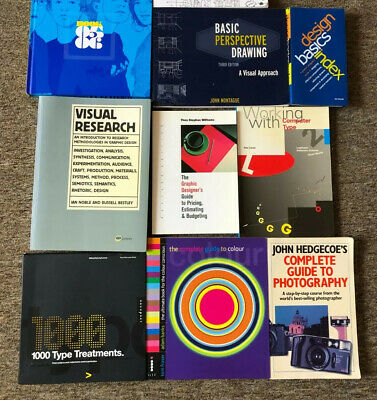 £19 • Buy 19 Graphic Design, Web Design, Photography, Programming Books - Just £1/book