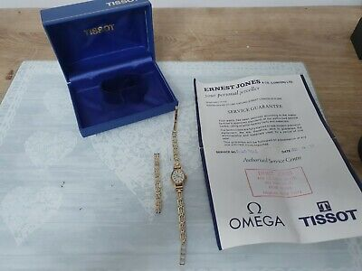 £90.88 • Buy Tissot Ladies Solid 9ct Gold Watch And 9ct Gold Braceletboxed