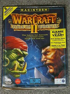 £50 • Buy Warcraft II, Tides Of Darkness For Apple Macintosh