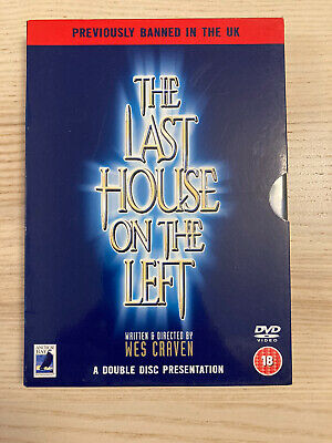 £0.99 • Buy The Last House On The Left - Double DVD - Cert.18 (previously Banned In UK)