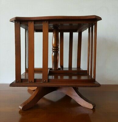 AU350 • Buy Antique French TABLE TOP REVOLVING BOOKCASE