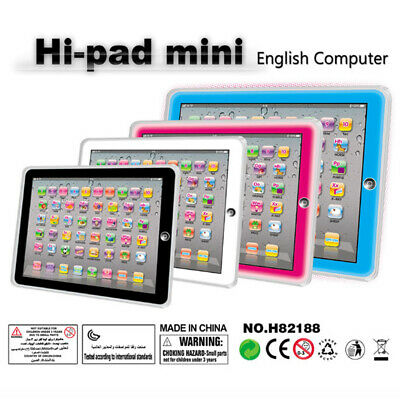 £3.20 • Buy White  Baby Tablet Educational Toy For 1-3 Year Toddler Learning English
