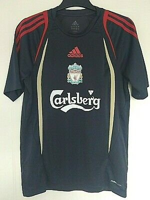 £17.99 • Buy Adidas Liverpool Mens Dark Grey Tee Shirt Size Size UK 36/38inch Chest Exc Con