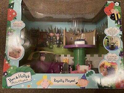£49.99 • Buy Ben & Holly Royalty Playset Wise Elf Nanny Plum Limousine New Sealed Very Rare