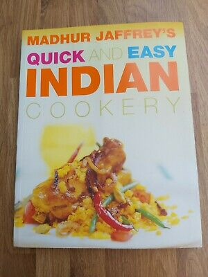 £4 • Buy Madhur Jaffrey's Quick And Easy Indian Cookery Cook Book: 75 Fabulous Recipes