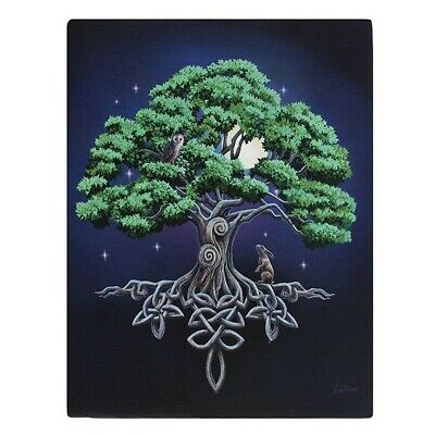 £9.09 • Buy Something Different Tree Of Life Canvas Print Lisa Parker SD1873