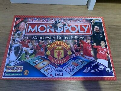 £12 • Buy Manchester United Limited Edition Monopoly Family Board Game Only £12.00