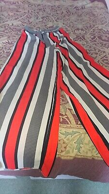 £5 • Buy Girls Striped Palazzo Trousers By River Island Age 11 Years