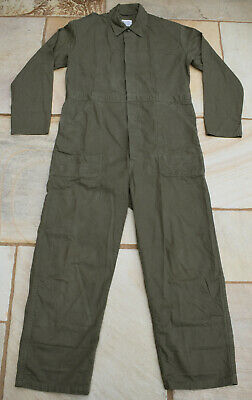 £30 • Buy VINTAGE 48  UK24 100% COTTON DUTCH ARMY COVERALL Boiler Suit Overall Jumpsuit